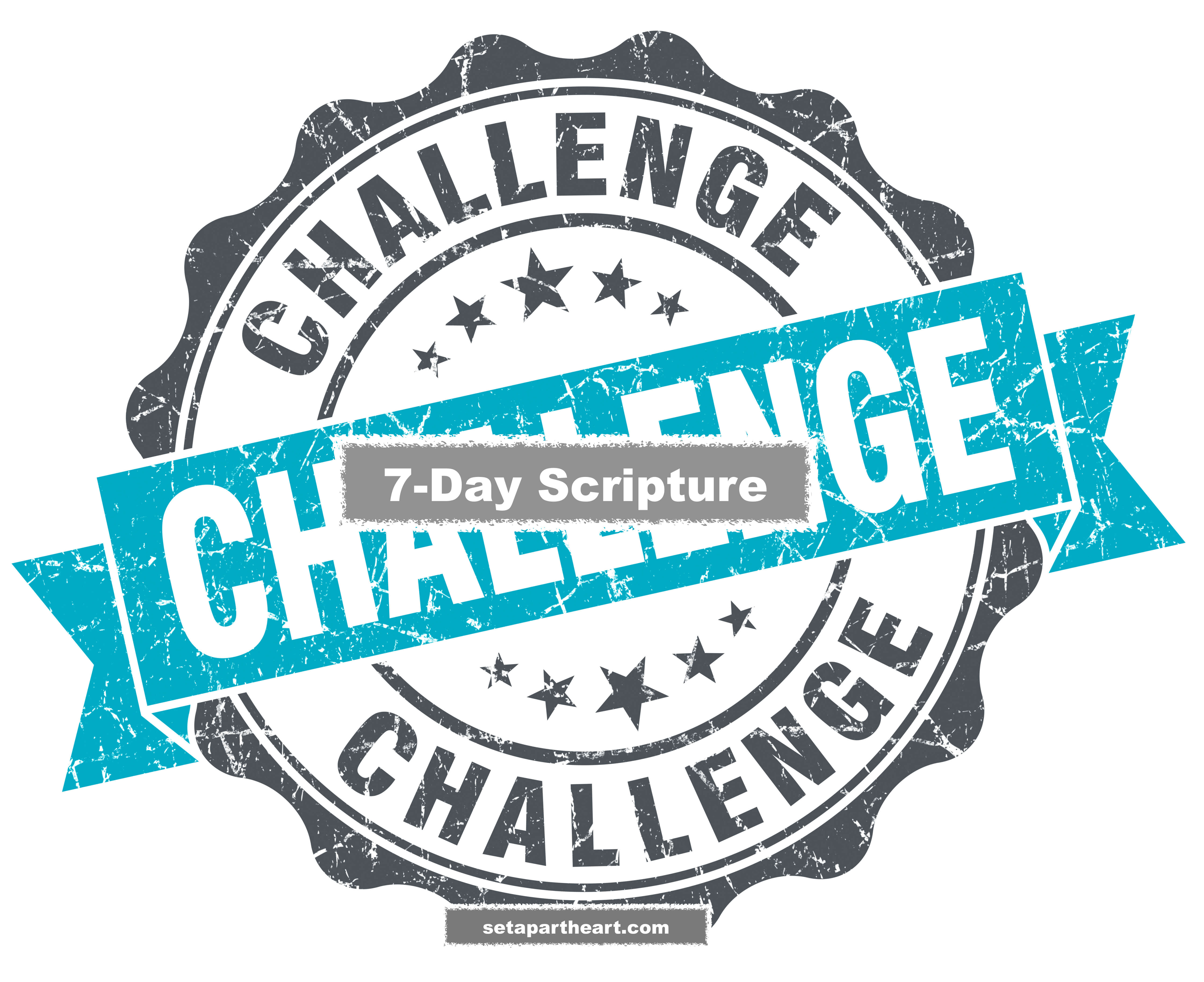 Psalms 27:14  7-Day Scripture Challenge  Wait on Yahuah